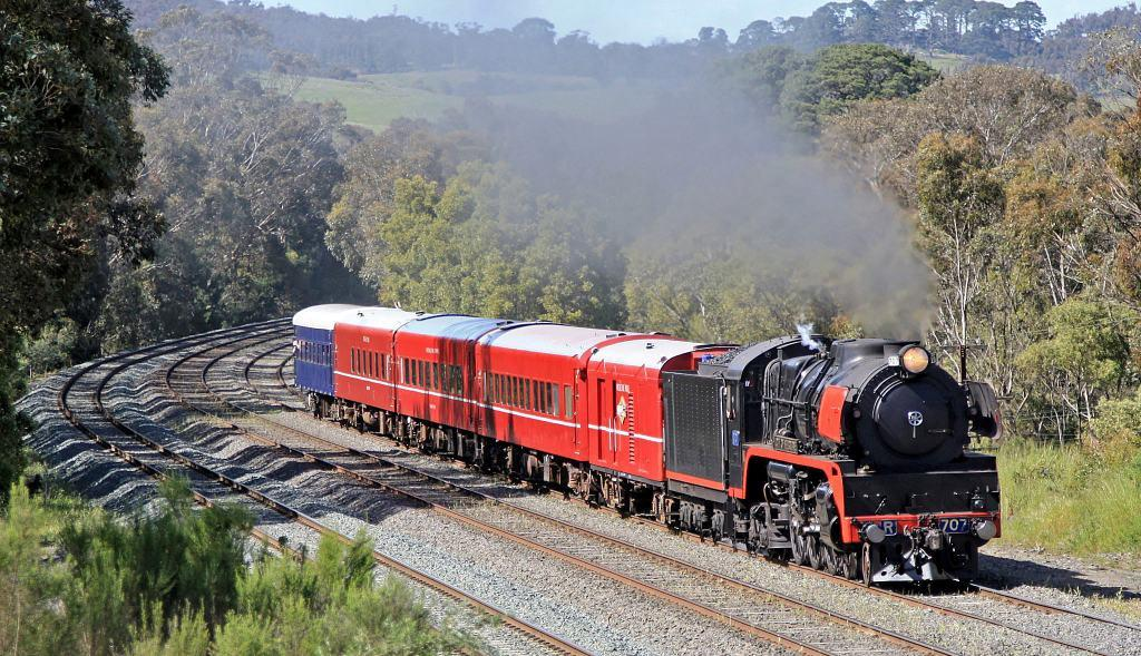 Steam Train | Classic Carriage Soiree to Geelong