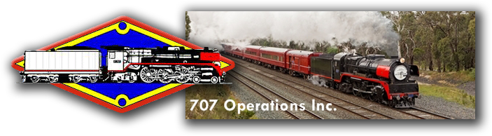 707 Operations Inc - Mainline Steam Train Trips in Victoria